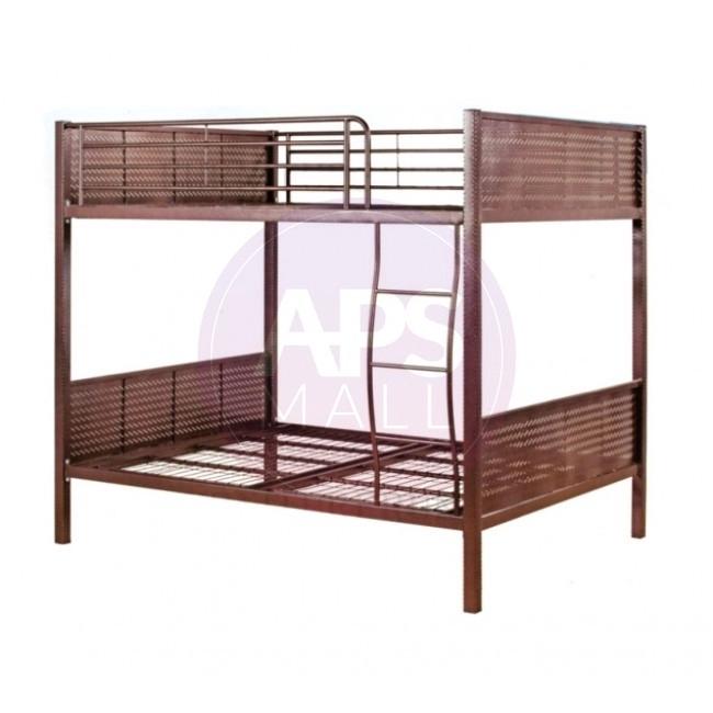 Queen Size Double Decker Bed Frame Bingkai Katil Dua Tingkat 双人双层床架 Shopee Malaysia