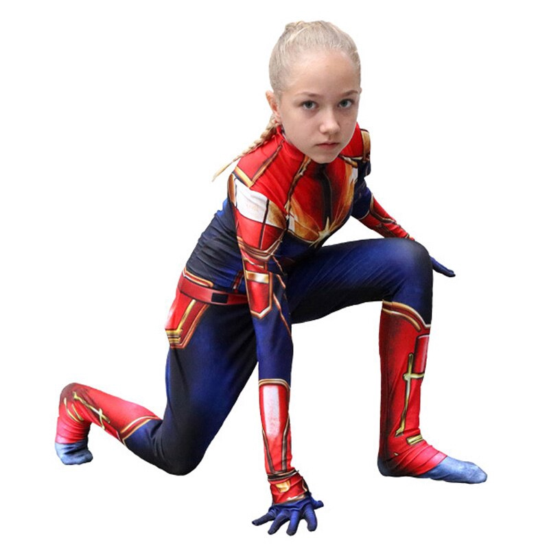 Women Ms Captain Marvel Superhero Cosplay Costume Womens Adults Zentai Suit Jumpsuits Clothing Shoes Accessories A beautiful replica is available on etsy and if you look at the. women ms captain marvel superhero