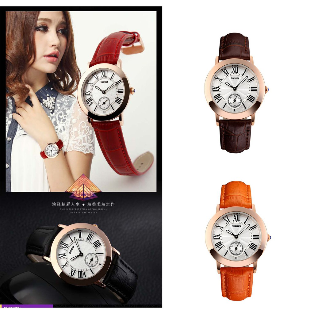 New watch business women's watch genuine leather women watch