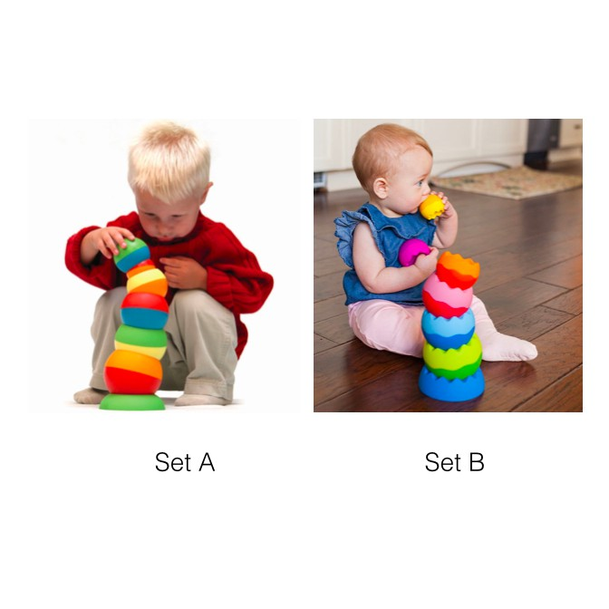 On U Mind Stacking Wobbling Egg (Set A/ Set B)