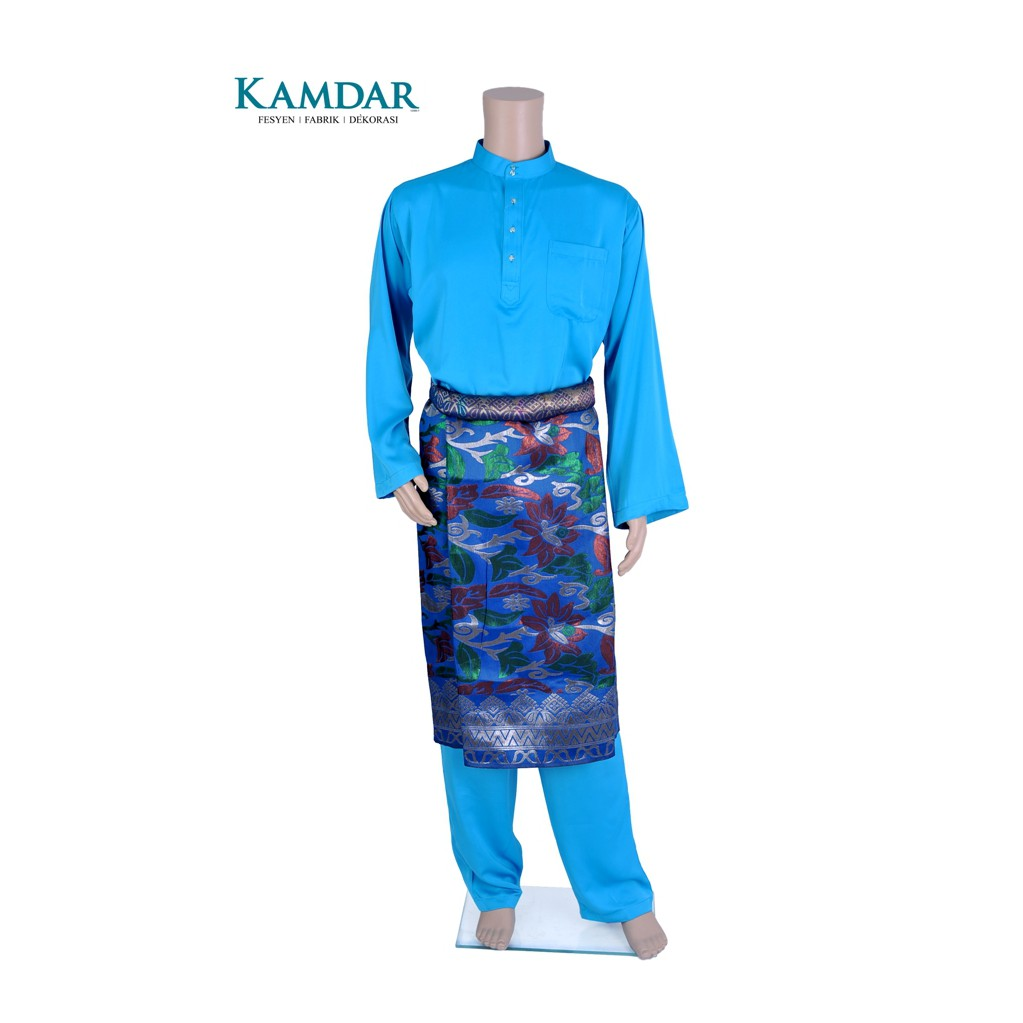 MyTrend Baju Melayu Hafiy - Sky Blue  bbae8d39c7