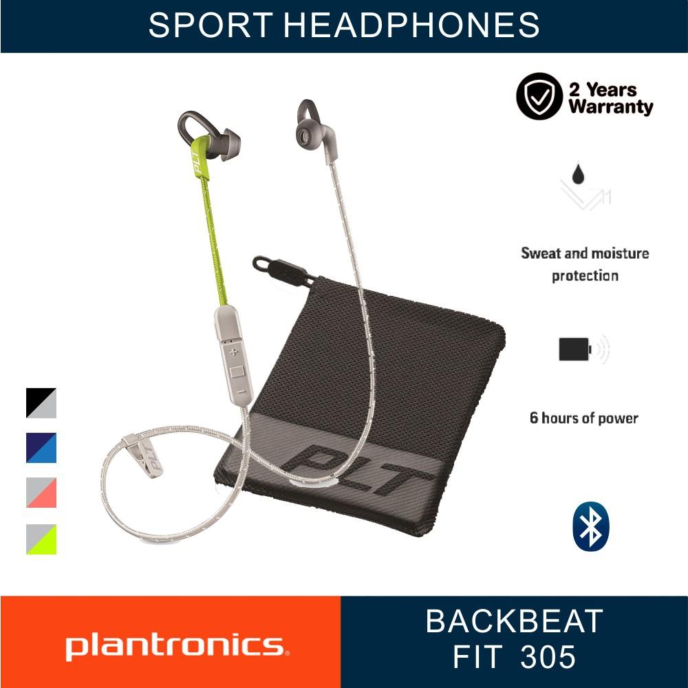 Plantronics Backbeat Fit 305 Sport Wireless Earbuds