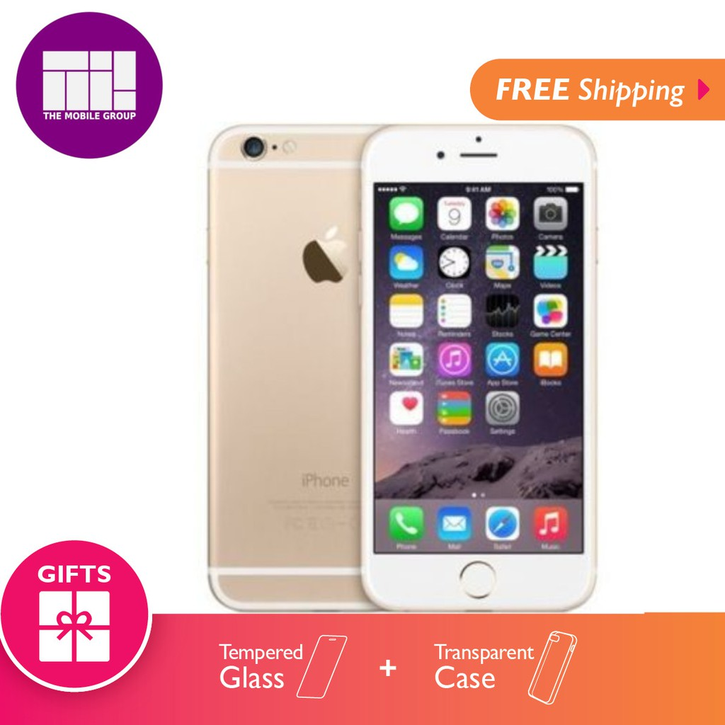 Apple Iphone 8 Plus 64gb 256gb Free Tempered Glass Casing Wireless 6 Refrubish Charges Shopee Malaysia