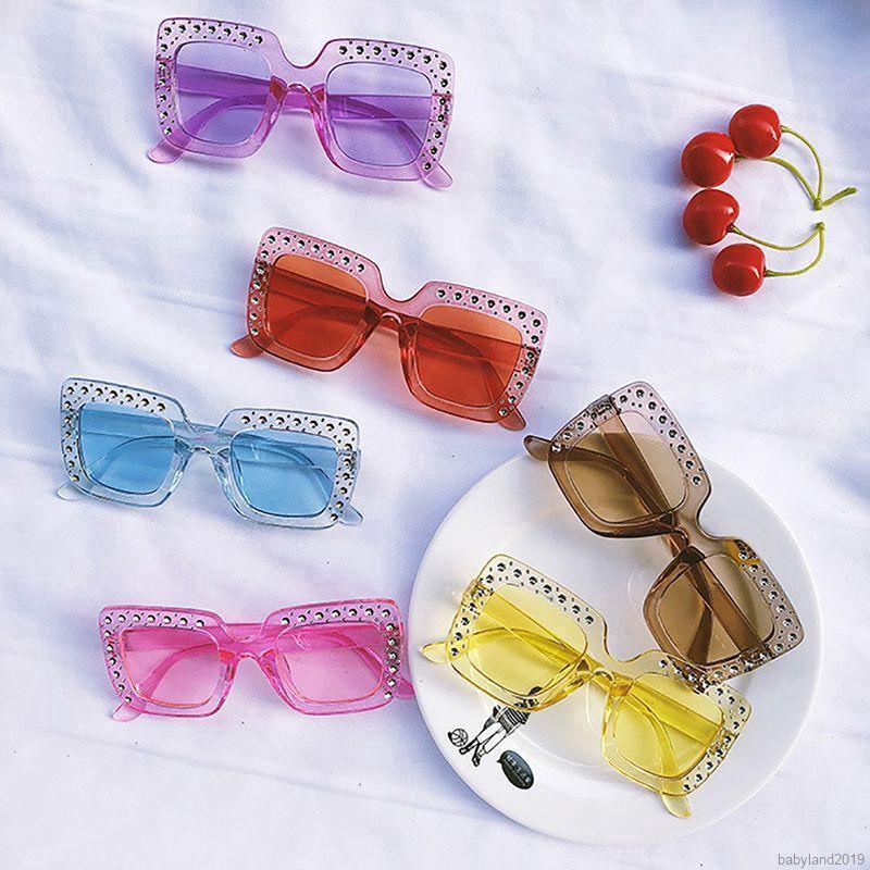 Baby Kids Sunglasses Cool Toddler UV Sunglasses Metal Glasses 6 color