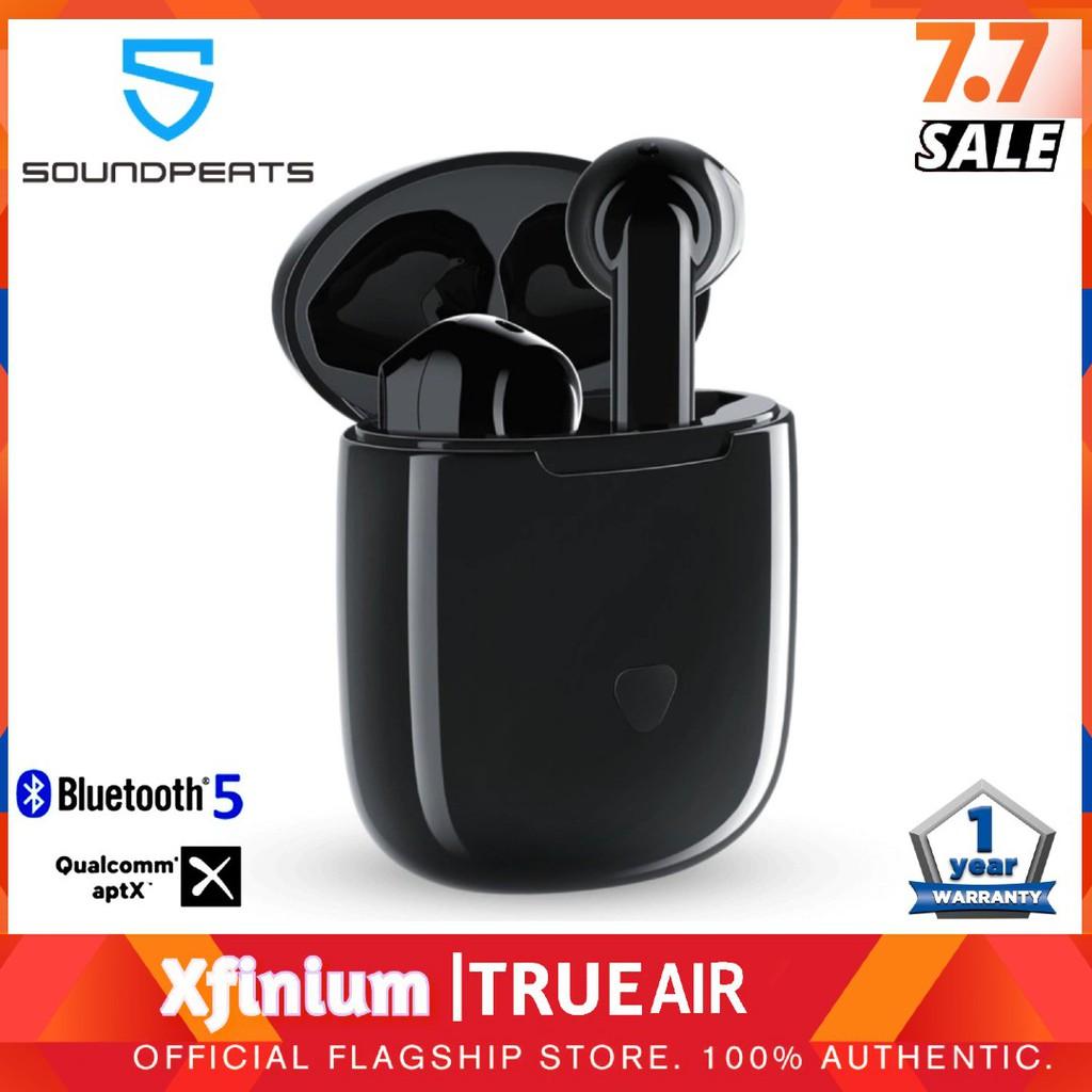 SoundPEATS TrueAir True Wireless Earbuds Black Colour