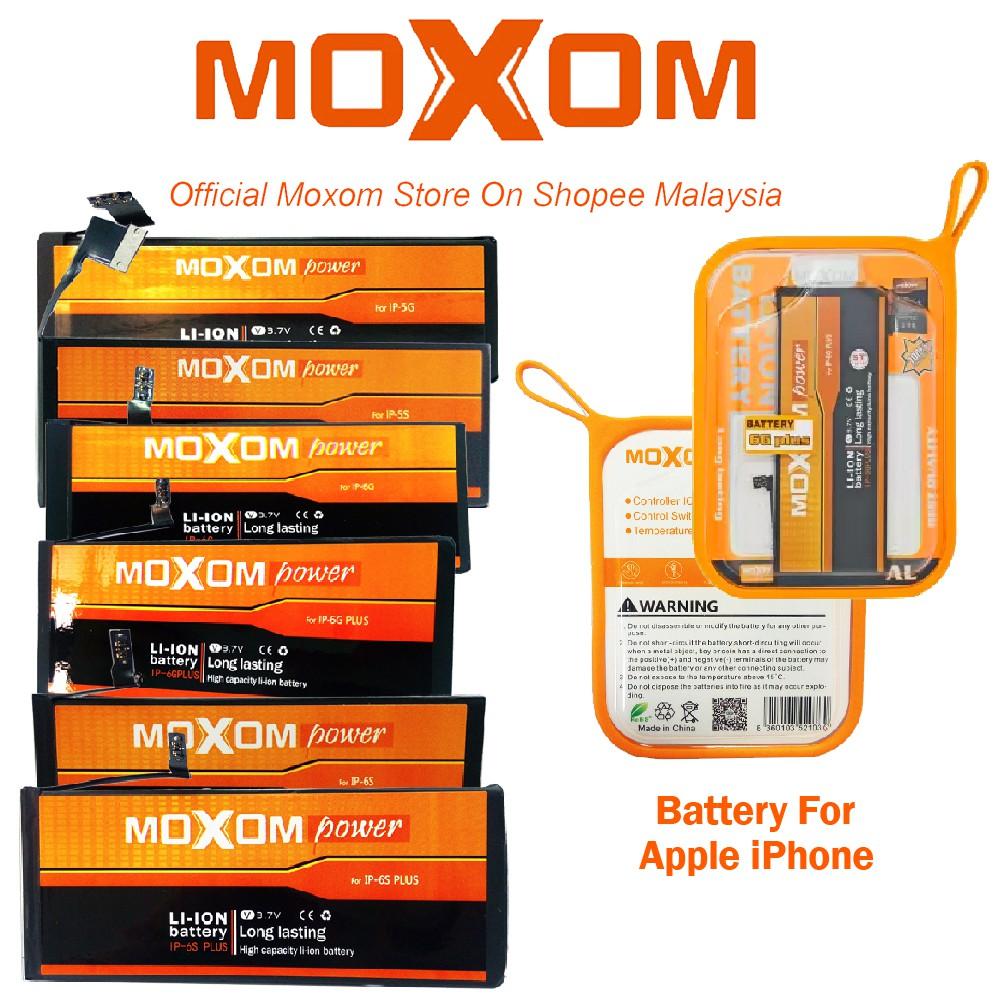 Moxom Internal Smartphone Battery 3 7V for Apple iPhone 5/5S/6/6 Plus/6S/6S  Plus