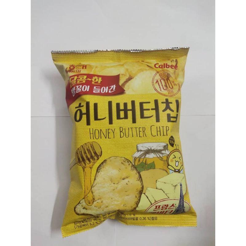 Korea Haitai Honey Butter Chips 60G