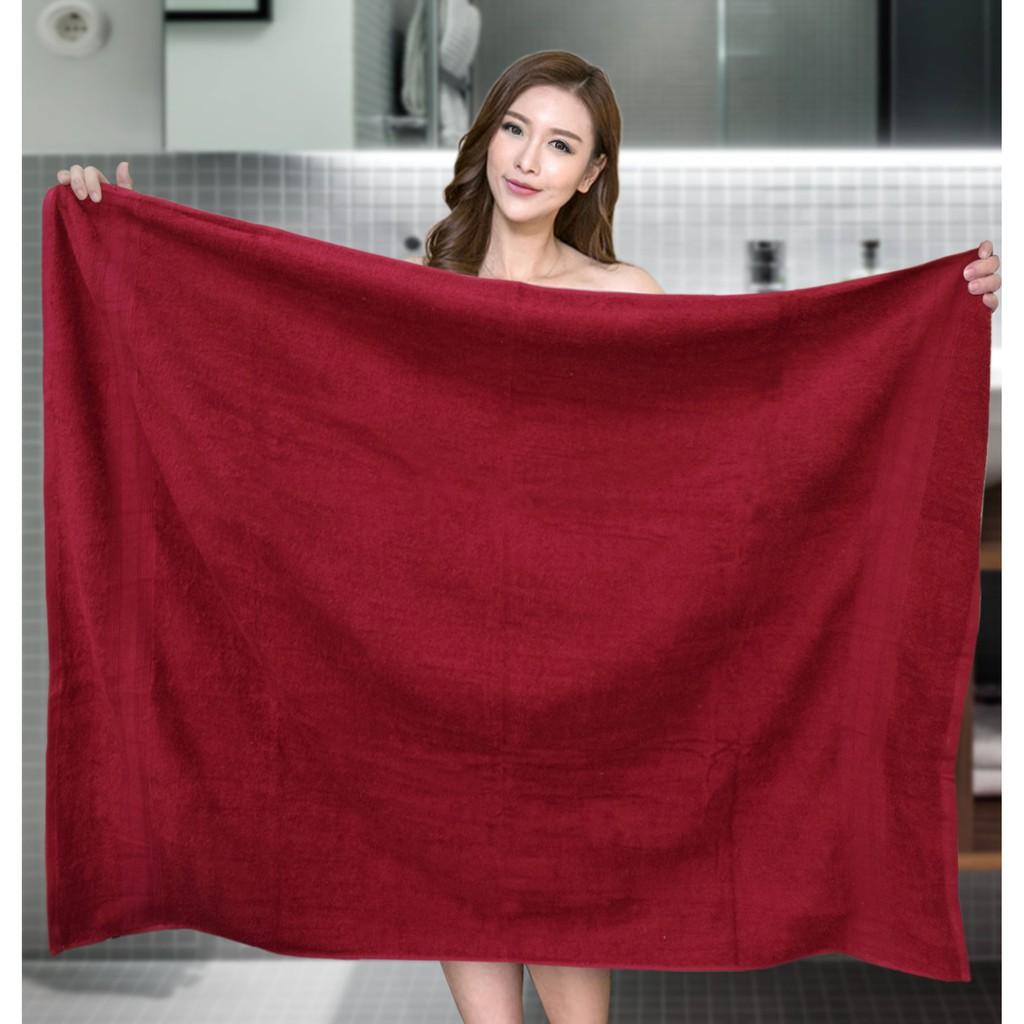Essina Monica Cotton  Extra Large Bath Towel 100cm x 150cm , 550gsm - (1 PIECE )