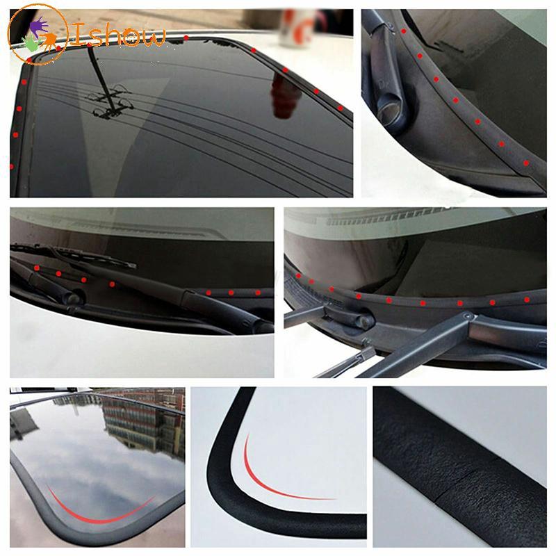 """Car Front Rear Window Sunroof Windshield Waterproof Rubber Edge Trim Strip 300/"""""""
