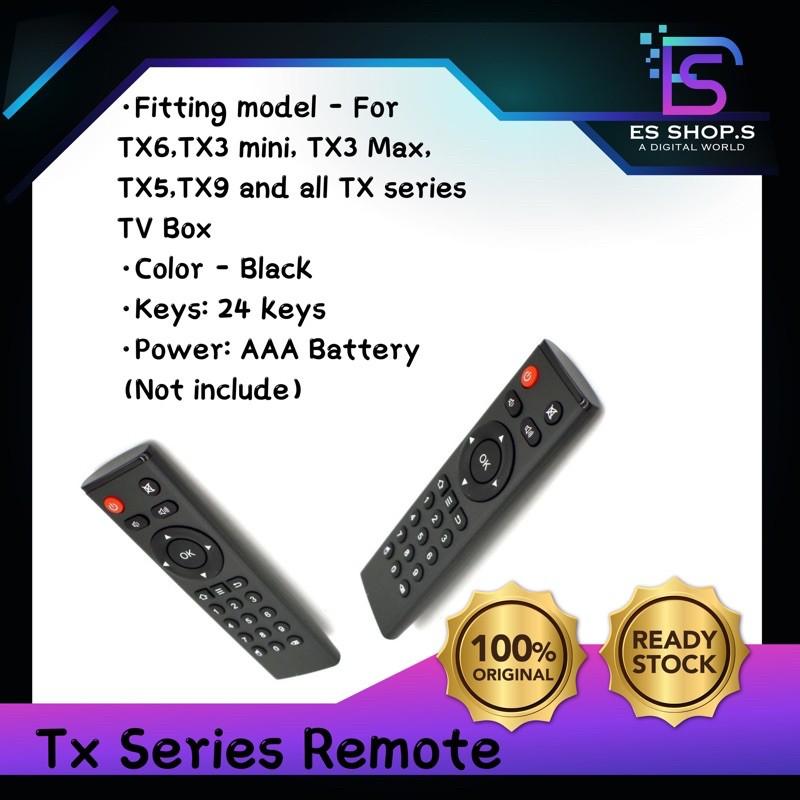 Remote Control for TX6 TX3 mini Android Box Smart TV