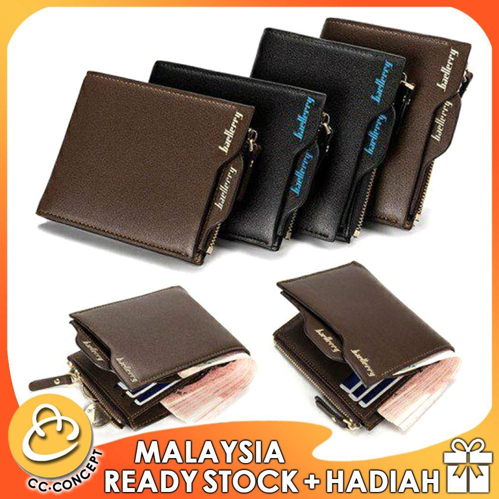 CC CONCEPT Korea Stylish Fashion Smart Zip Wallet Dompet Fesyen + Free Gift | Shopee Malaysia