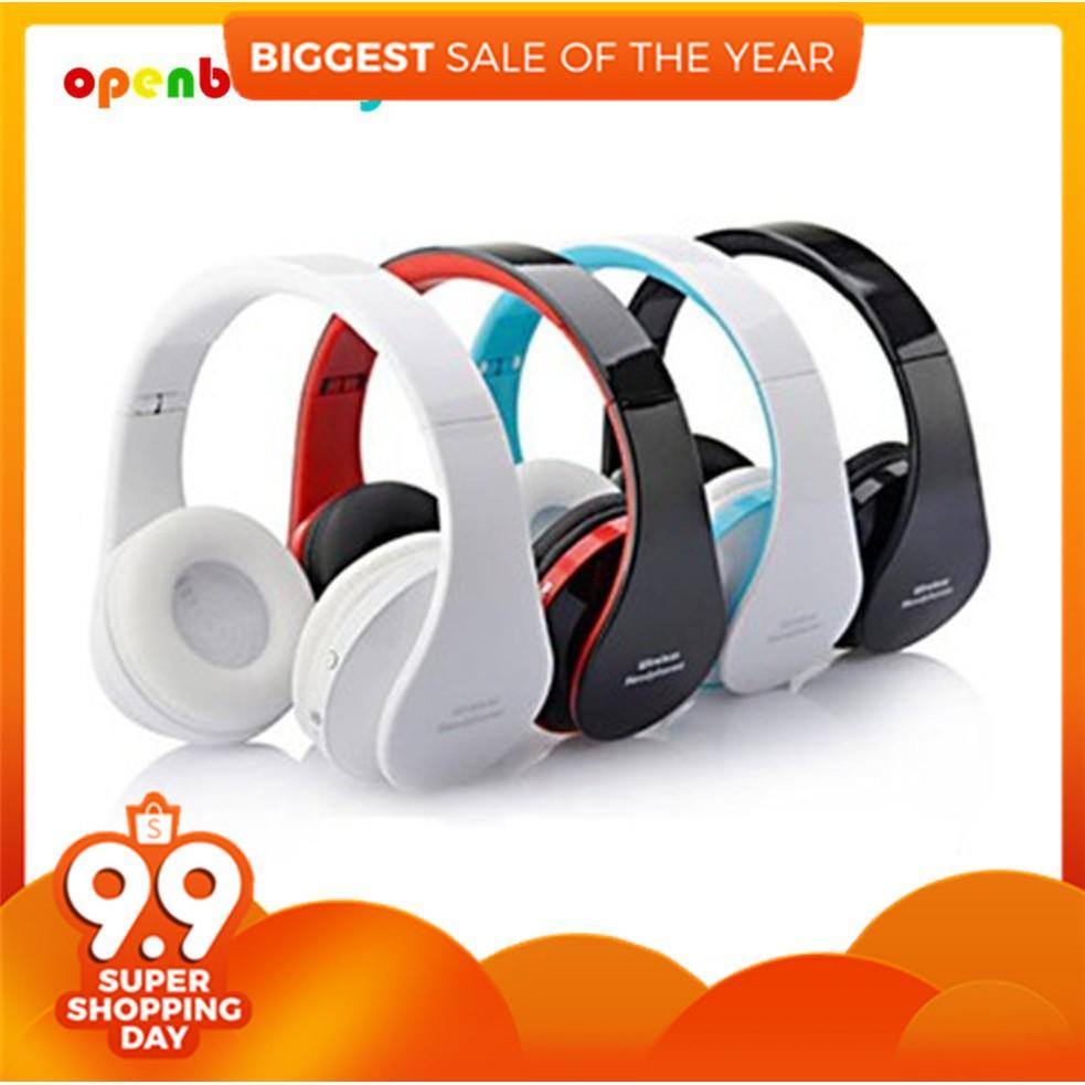 da447714b9e Sport Wireless Bluetooth Headphone Stereo Earphone Mic Foldable Outdoor  Headset   Shopee Malaysia