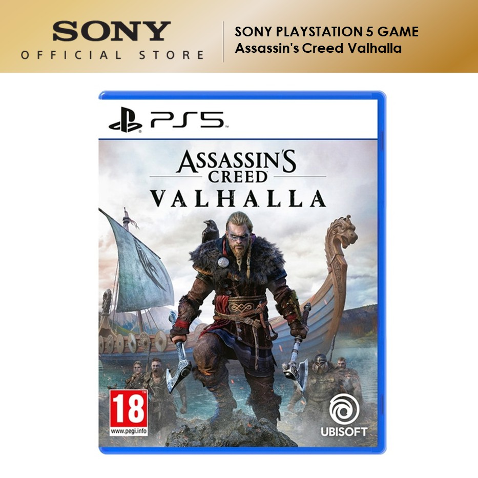 Sony PlayStation 5 PS5 Game Assassin's Creed Valhalla