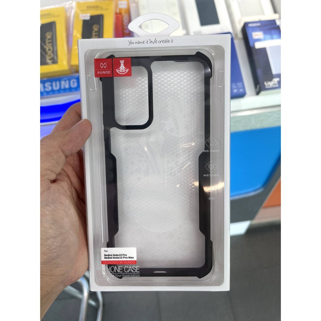 XUNDD Redmi Note 10 Pro, Poco F3, K40, K40 Pro, Mi 11 Lite Case Casing Cover