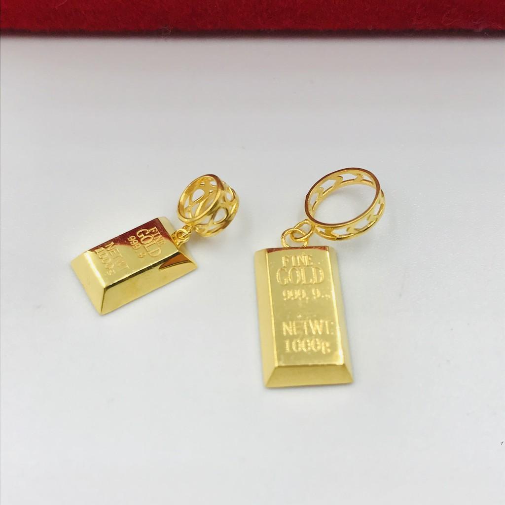 Masdora Charm Emas ~ Gold Bar Charm Series (Emas 916)