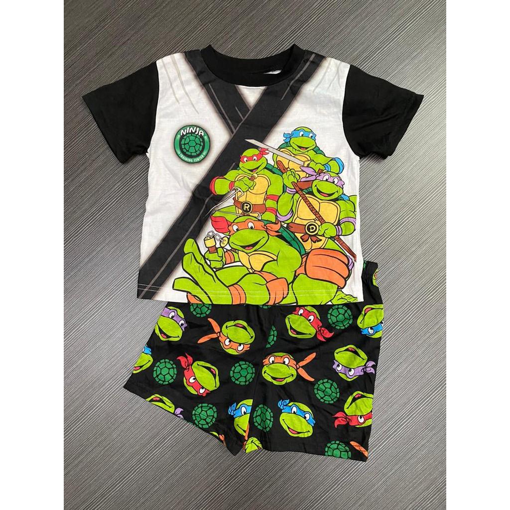 4 yrs old Mutant Ninja Turtles Kids Cotton Short Sleeves T-shirt