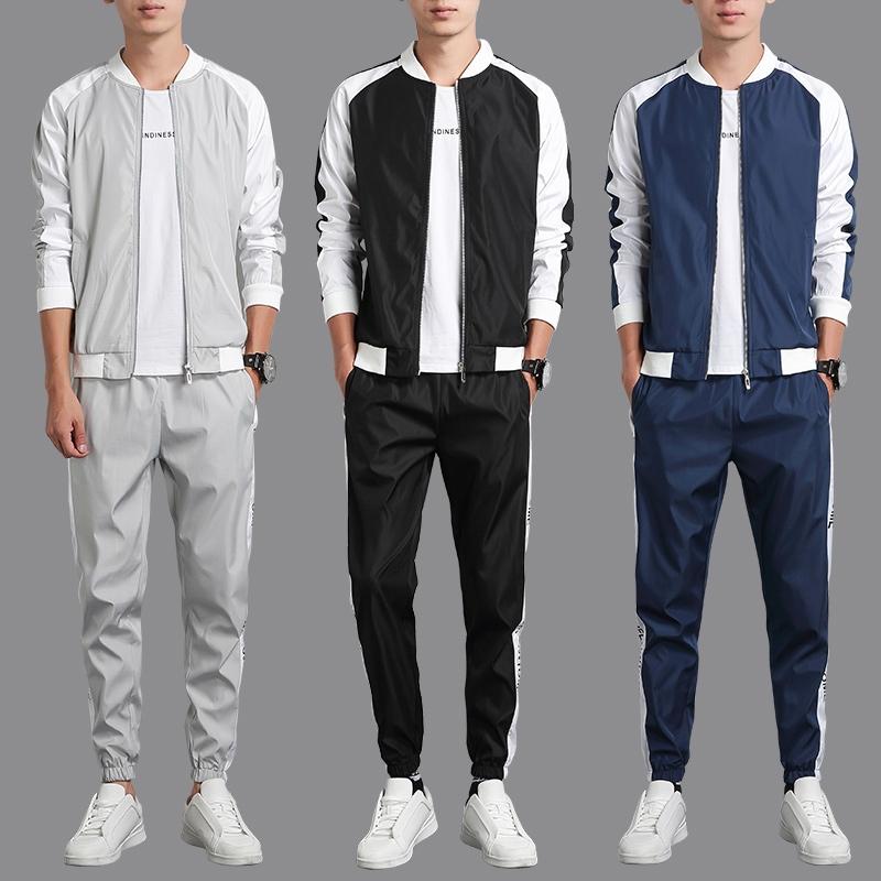7c87e61b0 ProductImage. ProductImage. suit□Spring Sports set Men's casual wear 2019  new Korean ...