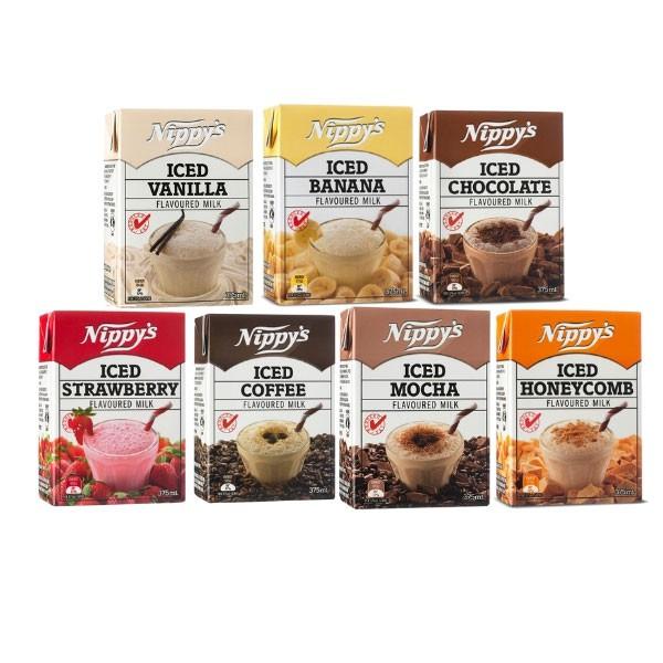 AIR KOTAK NIPPY'S (Ice Chocolate, Coffee, Banana, Mocha, Honeycomb, Vanilla, Strawberry)