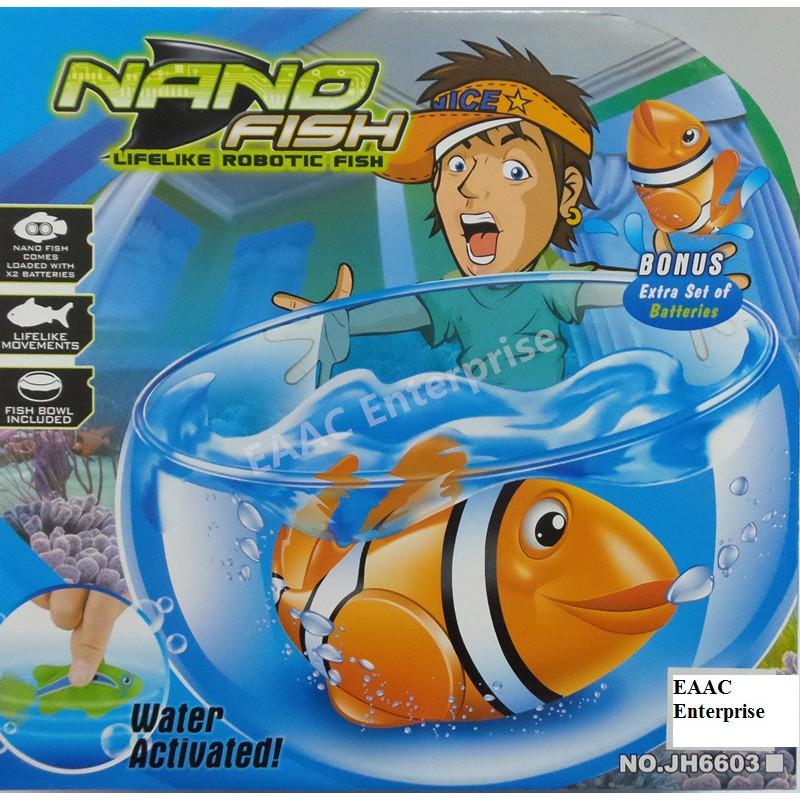 Nano Fish Lifelike Movement Robotic Fish