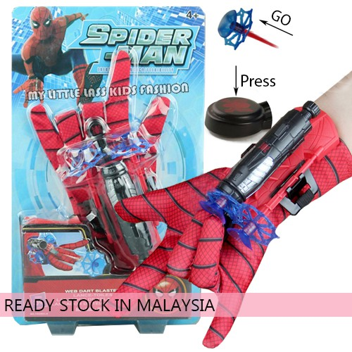 Ultimate Spiderman Glove With Net Launcher Toys for Boys