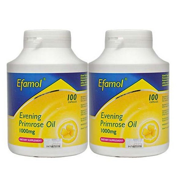 Efamol Evening Primrose Oil 100's / 2x100's