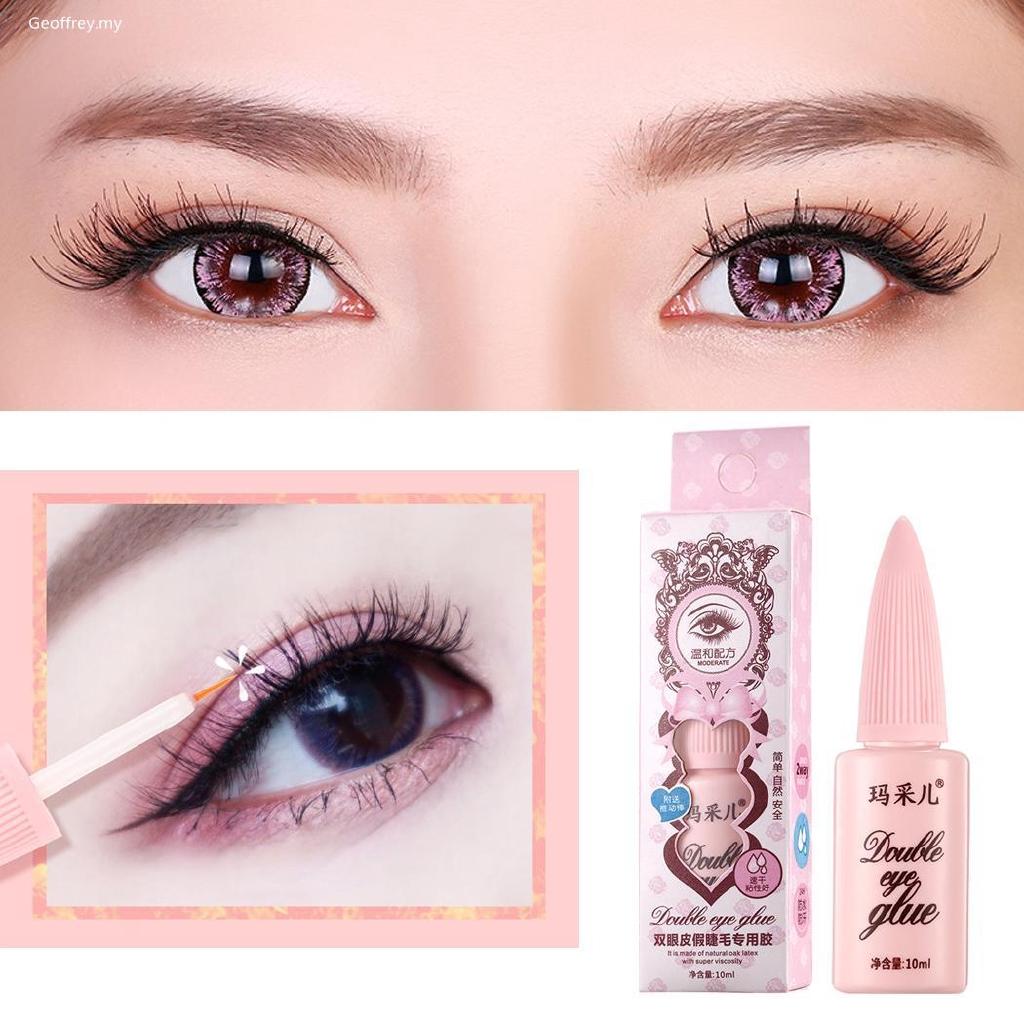 1b683364e4d Ge Women Waterproof False Lashes Makeup Anti-sensitive Adhesive ...