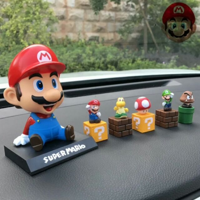 Car decoration (super mario)