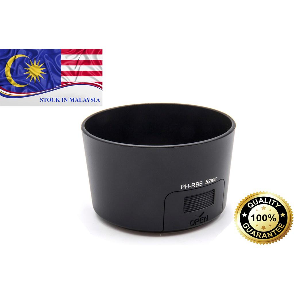 Lens Hood PH-RBB 52mm for PENTAX K-r K-m K-x DA 50-200mm F4-5.6 ED (Ready Stock In Malaysia)