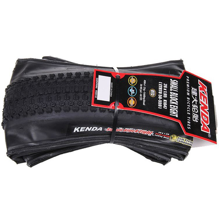KENDA Small Block Eight K1047 26 x1.95 MTB Mountain Bike Foldable Tire Black ***