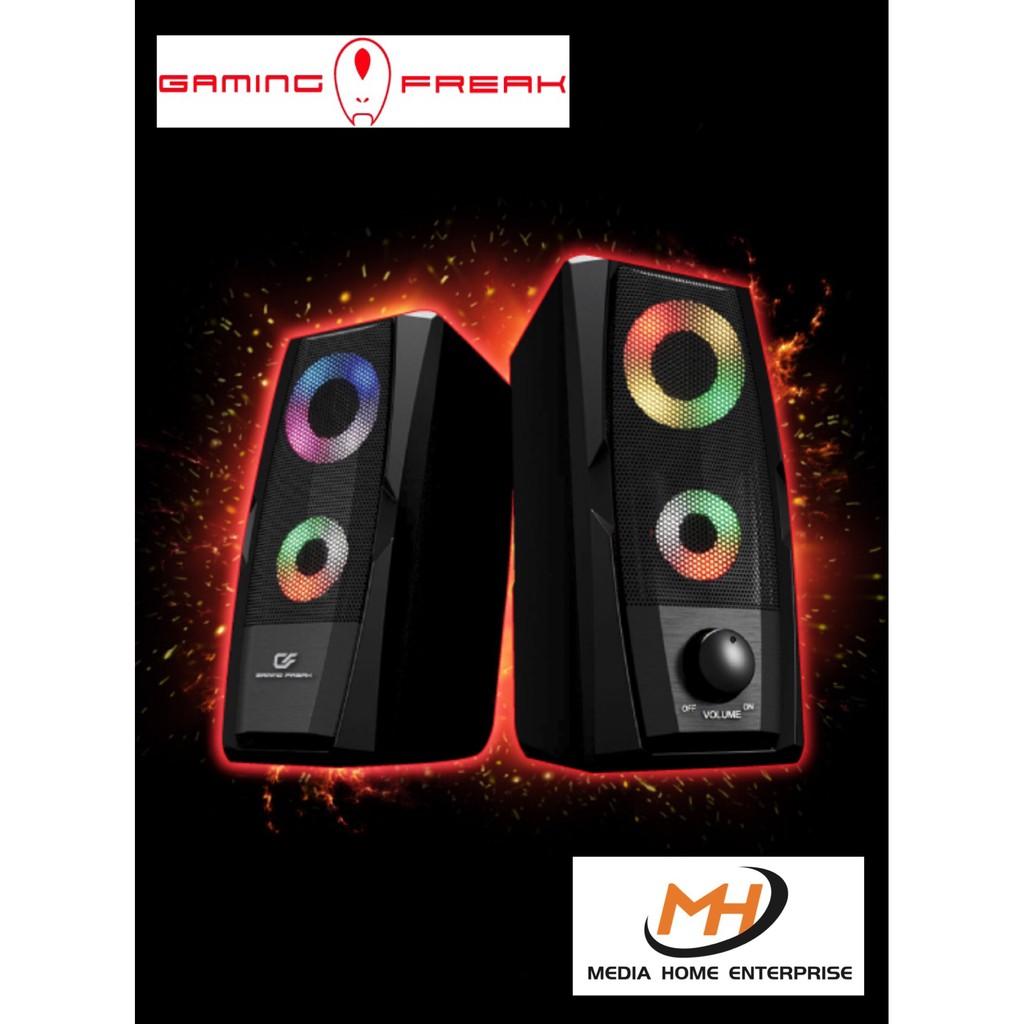 Gaming Freak EVO X Speaker - RGB Effect, 3.5mm Audio Jack
