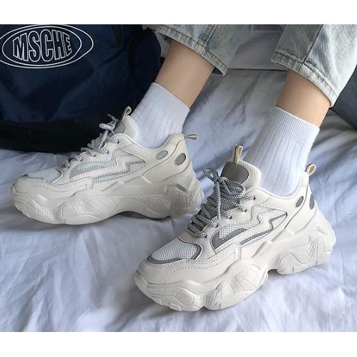 รองเท้าผ้าใบ Tambis เสริมส้น