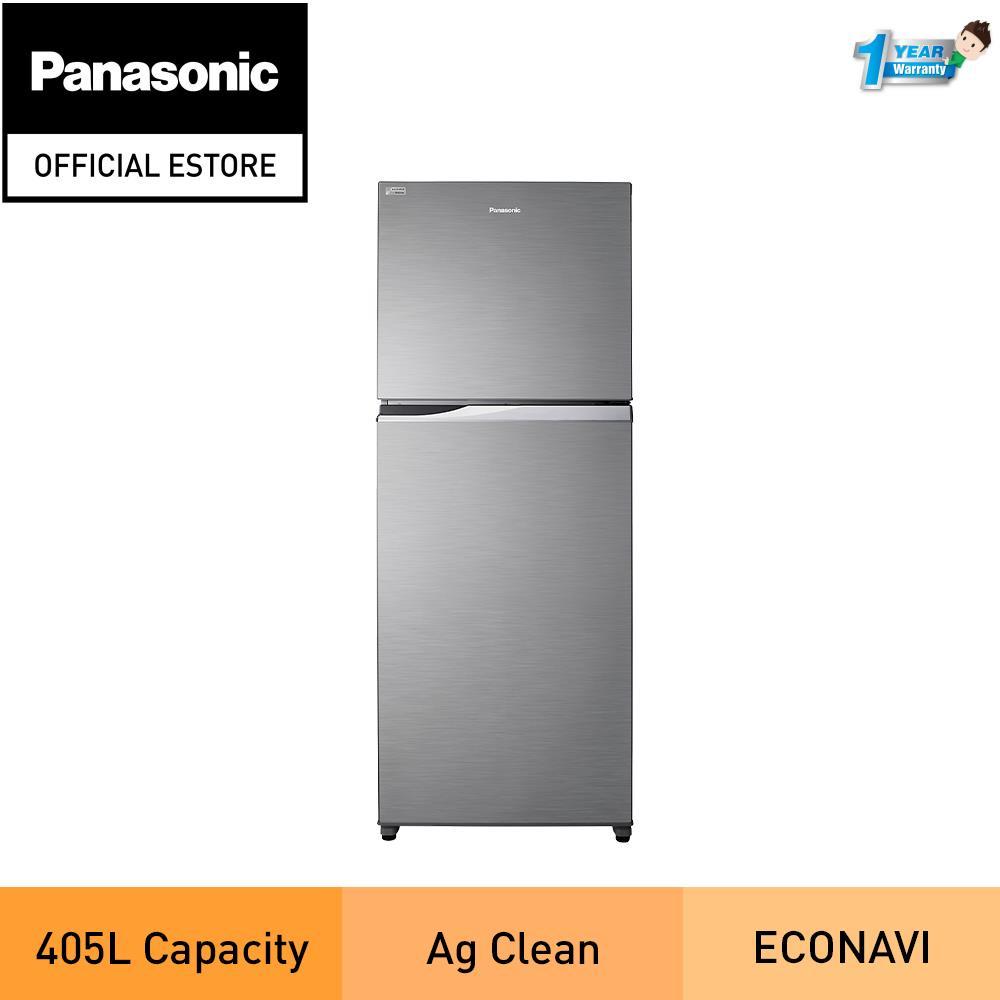 Panasonic NR-TX461BPSM 405L 2-Door Top Freezer Refrigerator