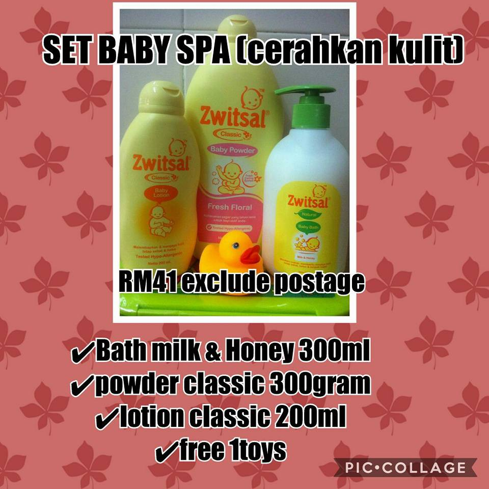 Zwitsal Set Newborn Shopee Malaysia Lotion Classic 200ml