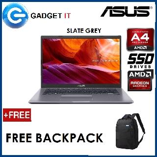 Asus M409b Abv040t Slate Grey M409b Abv041t Silver Laptop A4 9125 4gb 128gb Ssd 14 Hd Radeon R3 Graphics Win10 Shopee Malaysia