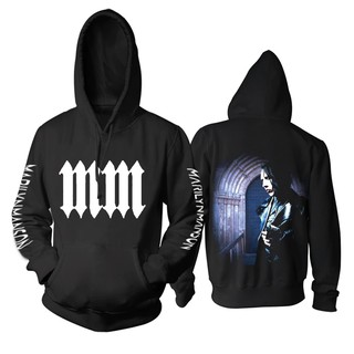 on sale presenting strong packing Marilyn Manson American Rock Singer Concert Tour Black Hoodie