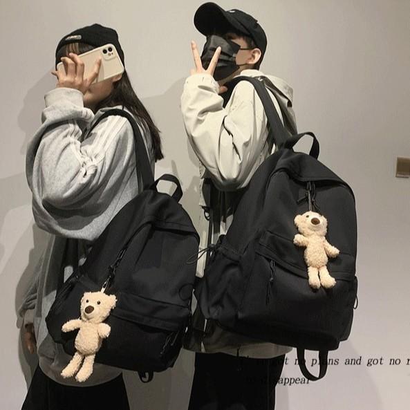 Girl Backpack Boy Casual School Carry Backpack 韩版简风男女背包 BP0018