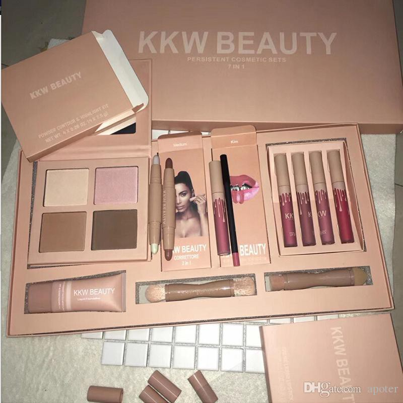 Kylie KKW BEAUTY Persistent Cosmetic kit 7 In 1