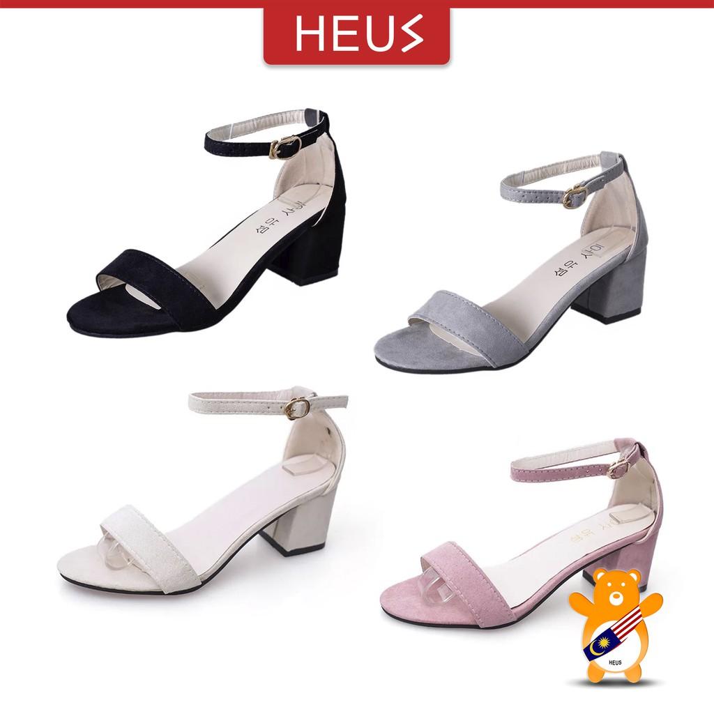 69042df71a0 HEUS OL Elegant Thick Heel