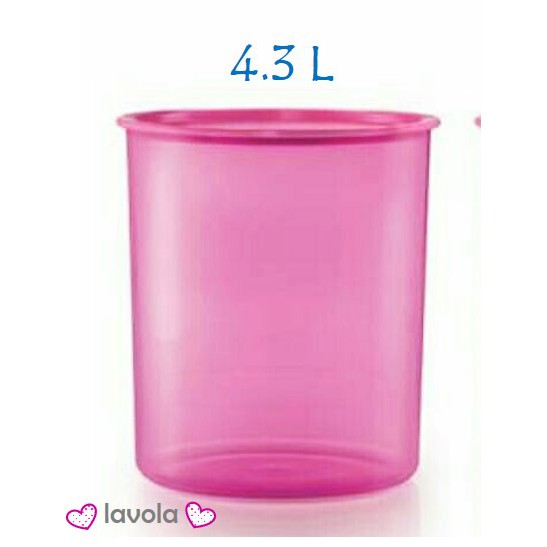 Tupperware One Touch Canister Large 4.0L/4.3Liter (1pcs)