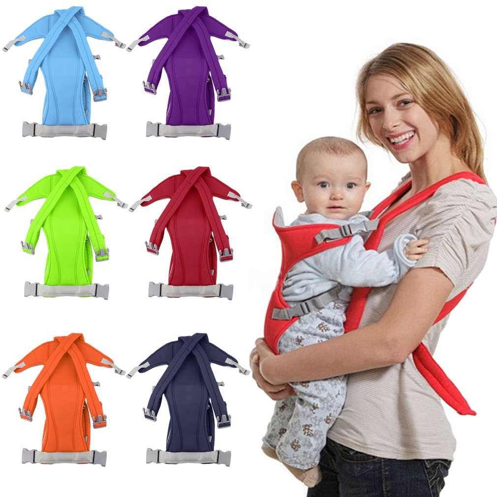 READY STOCK 3-16 Month Infant Baby Carrier Sling Wrap Rider Backpack Front
