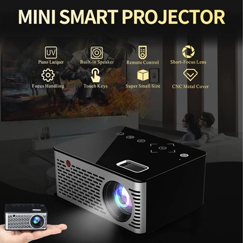 T200 Home Mini Portable Led Projector - 600 Lumens