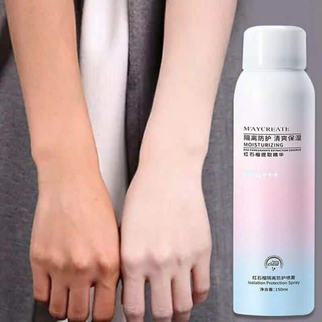 MayCreate Whitening Sunscreen Spray UV Protection Isolation