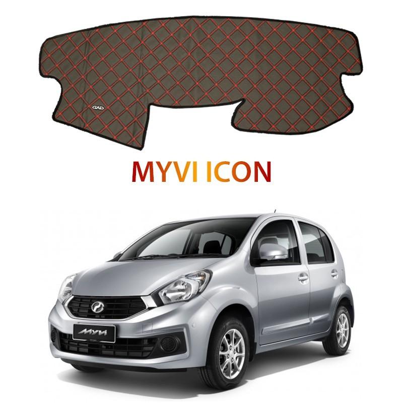 Perodua Myvi Icon DAD Non Slip Car Dashboard Cover Dash Mat