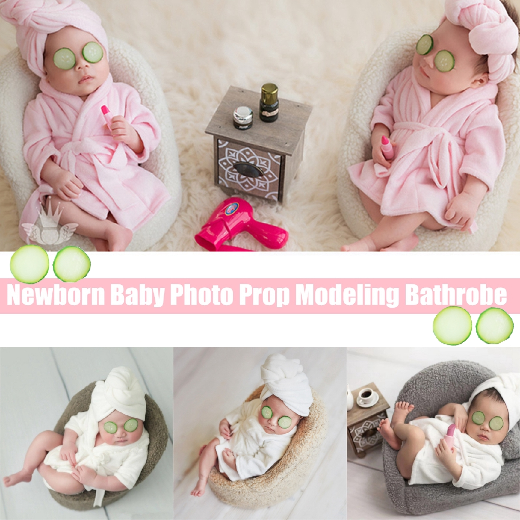 Newborn Baby Girls Boys Soft Costume Photo Photography Prop Outfits 0-6M Old ❤