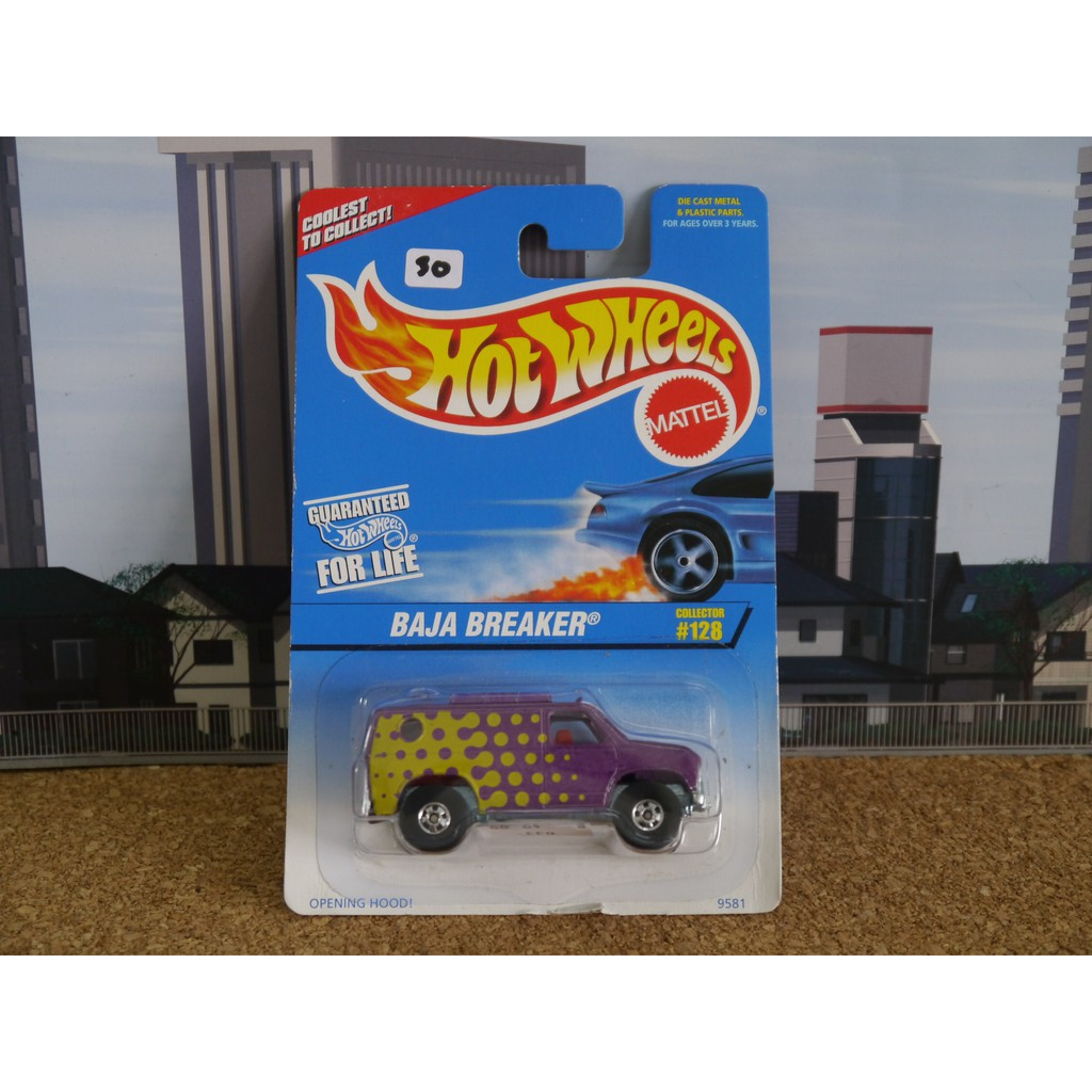 Hot Wheels Baja Breaker Shopee Malaysia Hotwheels Volkswagen Bug White Tropicool Series