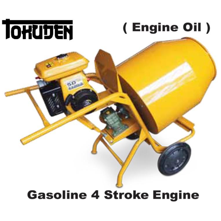 TOKUDEN CONCRETE MIXER TKCM-3T w EY20 Gasoline 4 Stroke Engine Machine Cement Si