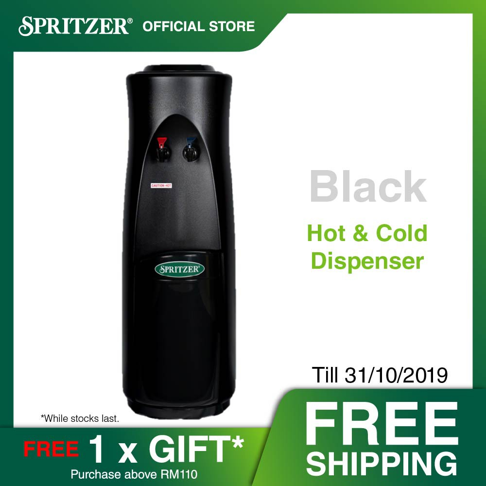 Spritzer Hot & Cold Water Dispenser - Mystery Black