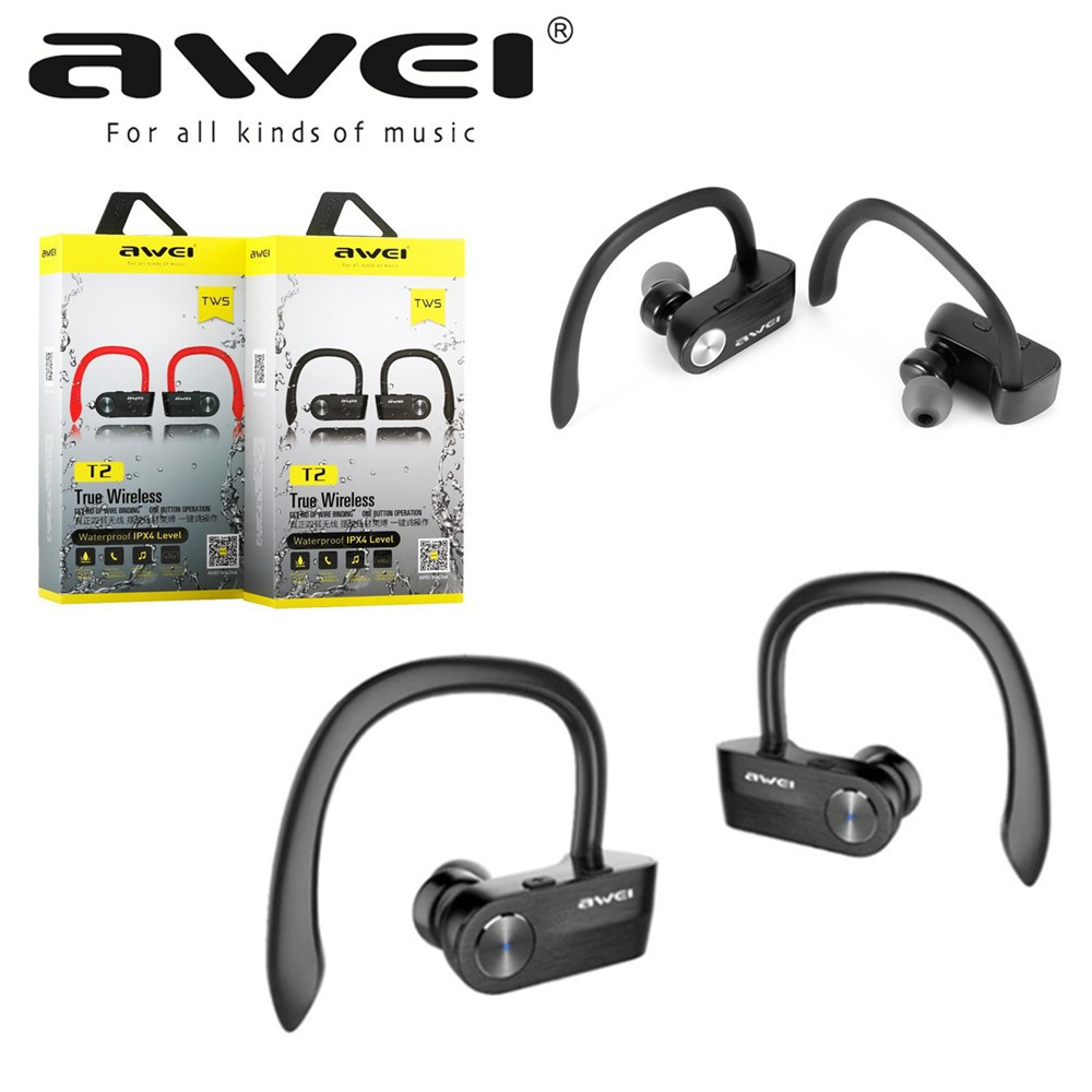 d53e3c5c326 ProductImage. ProductImage. Awei T2 Sport Wireless Bluetooth V4.2 Earphone  TWS Stereo Headset