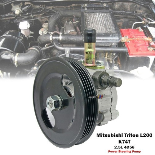 Power Steering Pump For Mitsubishi Triton L200 Storm K74T 1996-04 2 5L 4D56  4WD