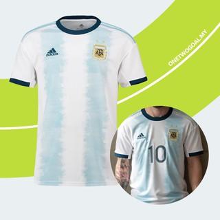 new arrival f3f35 0e9cc 2019 Copa America Argentina Jersey Messi Football Jersey ...